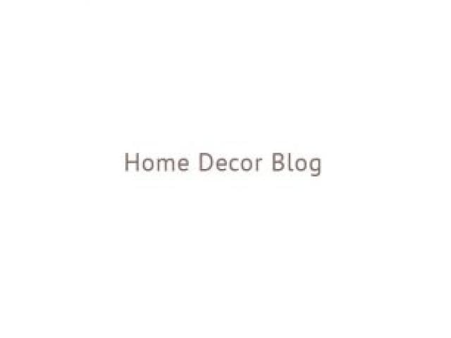 Home Decor Blog - 1