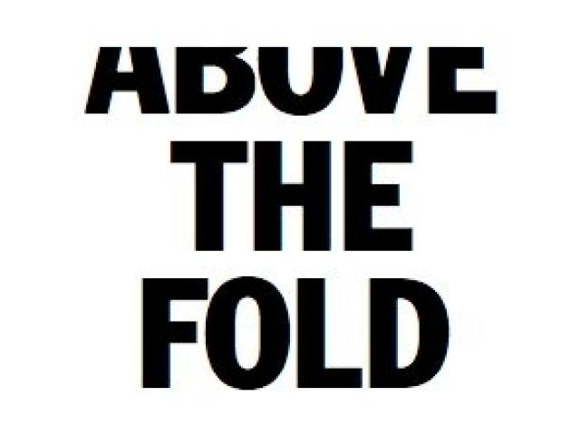 ABOVE THE FOLD - 1