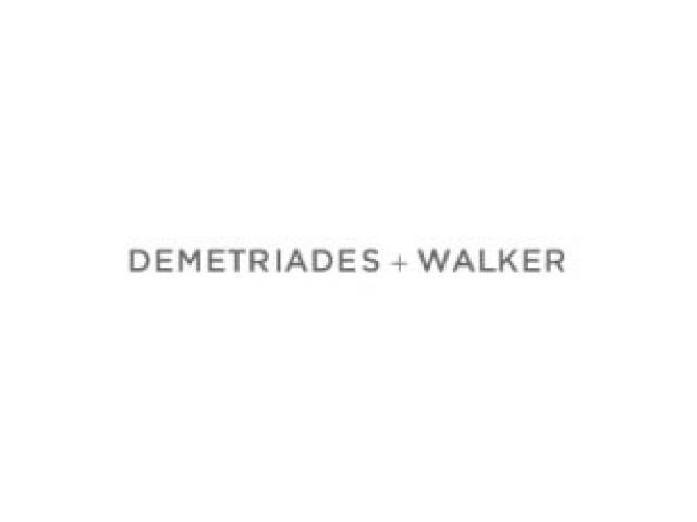 Demetriades + Walker - 1
